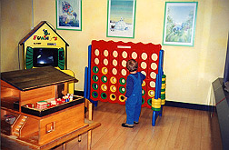 Zurich airport nursery, small playroom