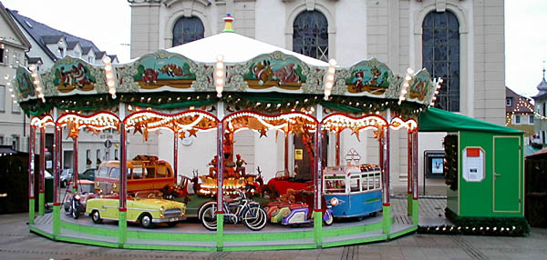 Carousel from Ludwigsburg Christmas market