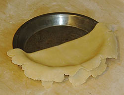 Unfolding the pie crust